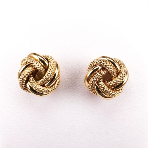9ct Yellow Gold Earrings with Pin